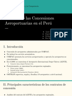 Analisis de las concesiones aeroportuarias en el Peru