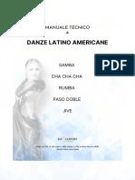 ESTRATTO MANUALE TECNICO DANZE LATINO AMERICANE
