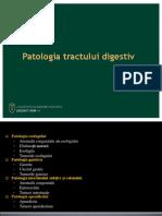 Patologia tractului digestiv
