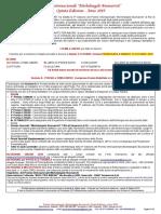 _BANDO 2019 - PREMIO INTERNAZIONALE MICHELANGELO BUONARROTI - Va EDIZIONE_PROROGATO