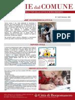 Notizie Dal Comune di Borgomanero del 5-01-2021