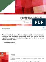 Company Profile of Winaxis Consultants