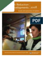 Harm Reduction Developments 2008