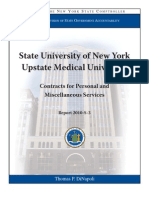 State audit says Upstate Medical University not reviewing contracts enough
