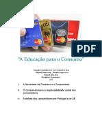 A Educação para o Consumo 2