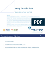Introduction to T24 - Treasury -  R10.1.ppt
