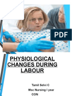 physiological changes during second stage of labour