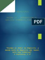 Unidad IV - Introducción Al Análisis Económico - Finaicero