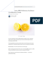 The Ultimate AWS Solutions Architect Certification Guide.pdf