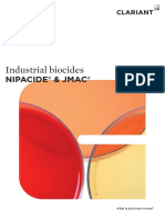 Clariant Brochure Nipacide JMAC Industrial Biocides 2015 EN