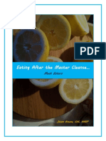 Eating After the Master Cleanse - Meat Eaters