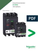 1-Fiche Technique Disjoncteurs Compact NSX100 & NSX630