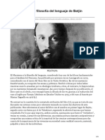 López Muñoz, José Manuel, El marxismo y la filosofía del lenguaje de Batjin