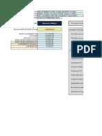 Presupuesto de canal Piura 1 en SRW7pro