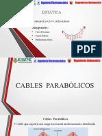 Cables Parabolicos y Catenarias