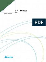 Manual do usuário - Série Gaia 5-11 KVA - 5011346703 PRT_BR