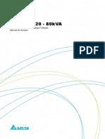 Manual do usuário - Série NH 80 KVA - 5011348000 - PRT_BRZ