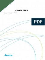 Manual do usuário - Série R 1-3KVA 220V - 5011358900 - PRT_
