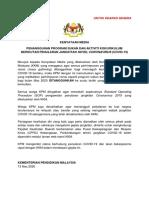 13 3 2020 Kenyataan Media Tangguh Program Kpm Covid19 PDF
