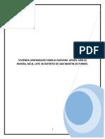 MEMORIA DE ARQUITECTURA, ACABADOS Y PLANOS