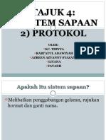 Sistem Sapaan