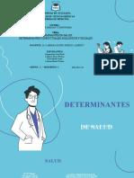 DETERMINANTES EN SALUD- DETERMINANTES CONDUCTUALES, BIOLÓGICOS Y SOCIALES - SUBGRUPO 3.pptx