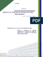 BTCU_28_de_20_10_2020_Especial - Programa de Logística Sustentável 2021-2025