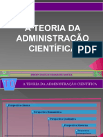 4 - Teoria da administração científica
