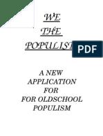 WETHEPOPULISTS