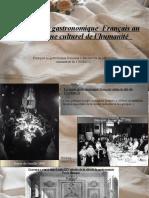 diapo gastronomie fr UNESCO.odp