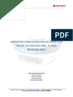 Sokkia-GRX-1-Importar-configuración-Radio-GRX-Utility