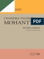 Pequena Biblioteca de Ensaios Chandra Talpade Mohanty Zazie2020