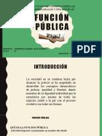 FUNCIÓN PUBLICA