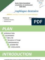 Radiographique dentaire