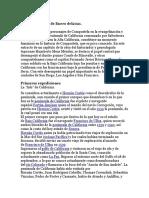 Compostela y La Colonización de La Baja y La Alta California