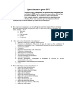Questionnaire ERP
