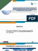 Proceso de Atención Circuito NO COVID-19
