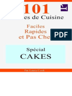 101 Recettes de Cuisine Faciles,par Laura Cook