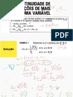 Continuidade de função de duas variáveis