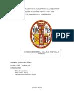 MONOGRAFIA DE FILOSOFIA DE LA POLITICA