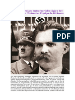 Bitácora Marxista-Leninista - El más inmediato antecesor ideológico del fascismo fue Nietzsche (2017)