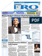 Baltimore Afro-American Newspaper, February 19, 2011