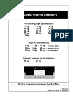 Grand Impianti Washer Extractor