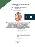 01NIVEL DE REDACCIÓN DE TEXTOS ARGUMENTATIVOS