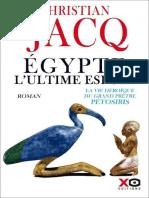 Christian Jacq – Egypte, l'ultime espoir (2020).epub