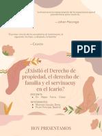HISTORIA DEL DERECHO PERUANO GRUPO 4