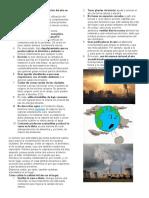 Consejos para reducir la contaminación del aire en nuestra ciudad
