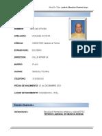 1 HOJA DE VIDA ANDRES MAURICIO FUERTES ARIAS