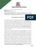 Oposicion - Naturaleza - Alcance - Cuando Procede - Casacion Contra Sentencia No Impugnada - Reporte2014-2703