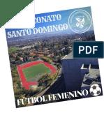 Carta invitacion Campeonato Futbol Femenino Colegio Santo Domingo